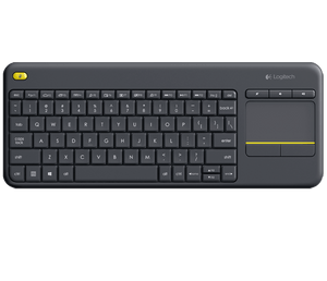 Logitech Wireless Keyboard  Media K400 Plus Control PC TO TV - BROOT COMPUSOFT LLP
