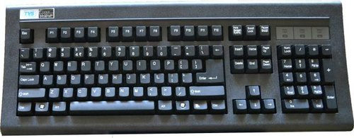 Tvs Gold Wired Keyboard - BROOT COMPUSOFT LLP
