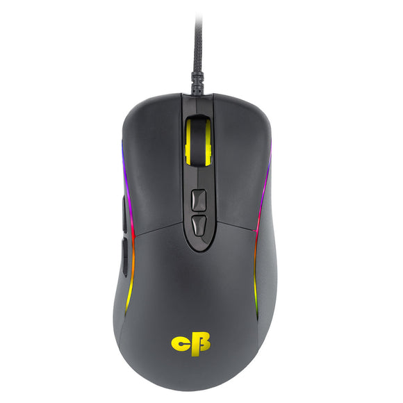 Cosmic Byte Equinox Wired Gaming Mouse, Pixart PMW3325 Sensor, Spectra RGB with Softwar - BROOT COMPUSOFT LLP