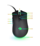 Zebronics Wired Gaming Mouse Phobos RGB - BROOT COMPUSOFT LLP