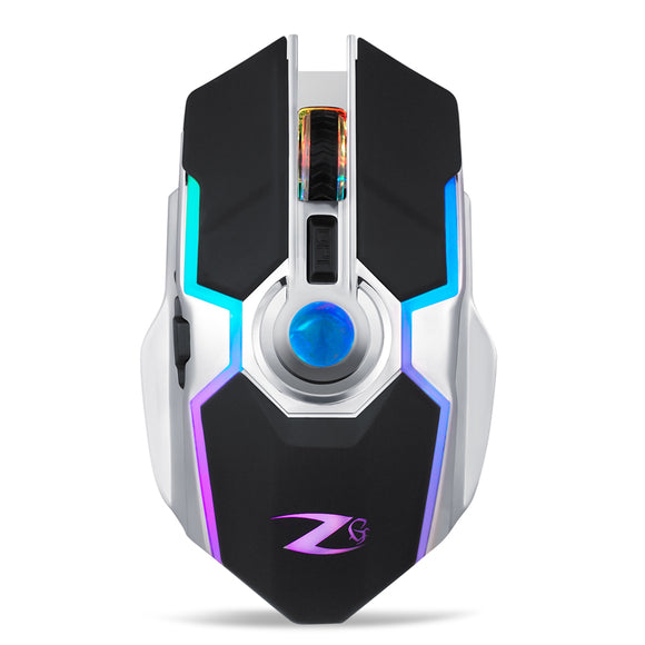 Zoook Terminator Rechargeable Wireless LED Backlight 7 Button Gaming Mouse