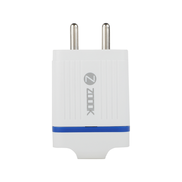 Zoook Mobile Charger Turbo Charge 2 Port USB Wall Charger with Quick Charge