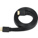 Zoook Ultra Flat High Speed HDMI Cable with Ethernet    ZT-HDF5M