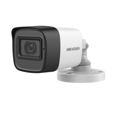 Hikvision In-Built Audio 2MP HD Bullet DS-2CE16D0T-ITPFS