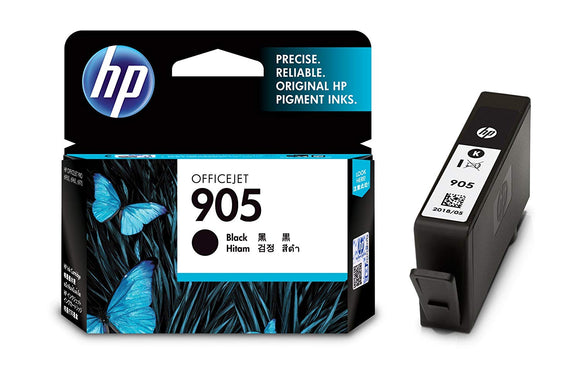Hp Ink Cartridge 905 Black - BROOT COMPUSOFT LLP