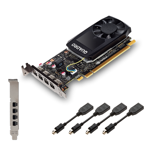 Nvidia Quadro Graphic Card  P1000 - BROOT COMPUSOFT LLP