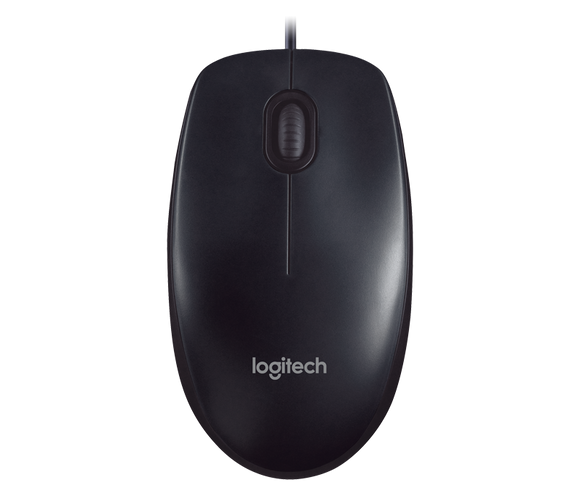 Logitech Wired Mouse M90 - BROOT COMPUSOFT LLP