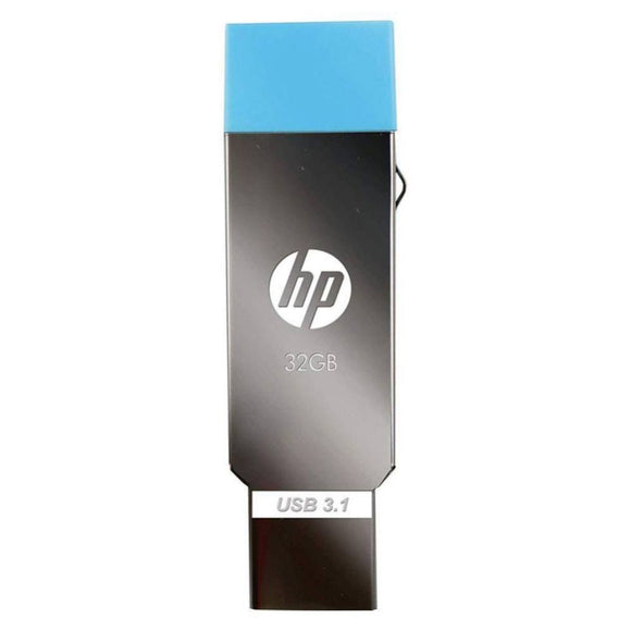 HP Pen Drive 32GB 3.0 OTG   X302M