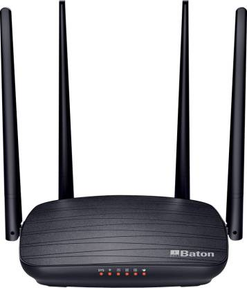 iBall  WIRELESS DUAL BAND ROUTER 1200 MBPS BATON  WRD12EN