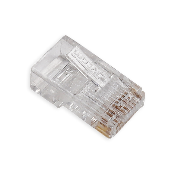 Velvu RJ-45 Pass Through Connector ST-RJ45-P (100 pcs)