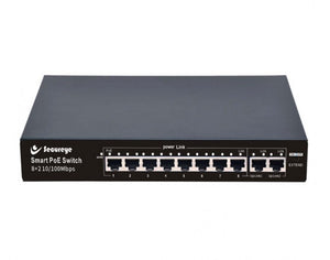 Secureye POE SWITCH 8 PORT 8+2 UP LINK GIGA    S-8FE-2UG-LD
