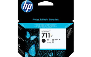 HP UK INK CARTRIDGE 711B 38ML BLACK 3WX00A