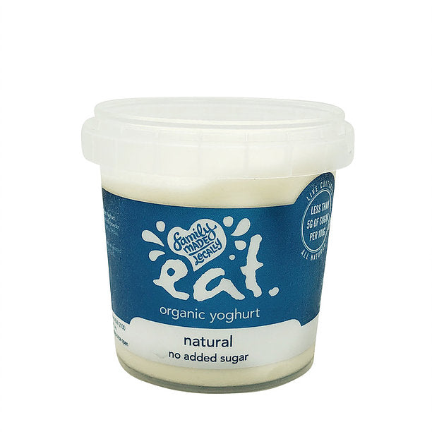 350g Eat Organic NAS Yoghurt Natural