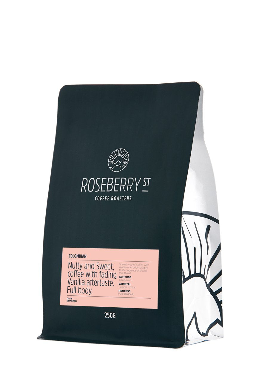 Columbian (Roasters Choice) Ground Beans 250g