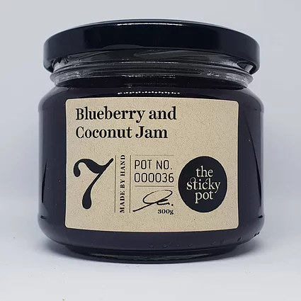 Blueberry & Coconut Jam 300g