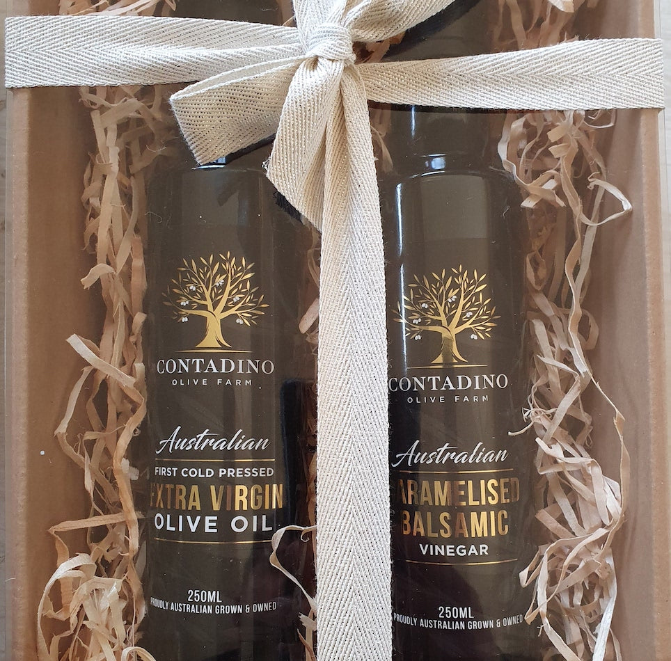 Gift Pack - 250ml Extra Virgin Olive Oil and Caramelised Balsamic
