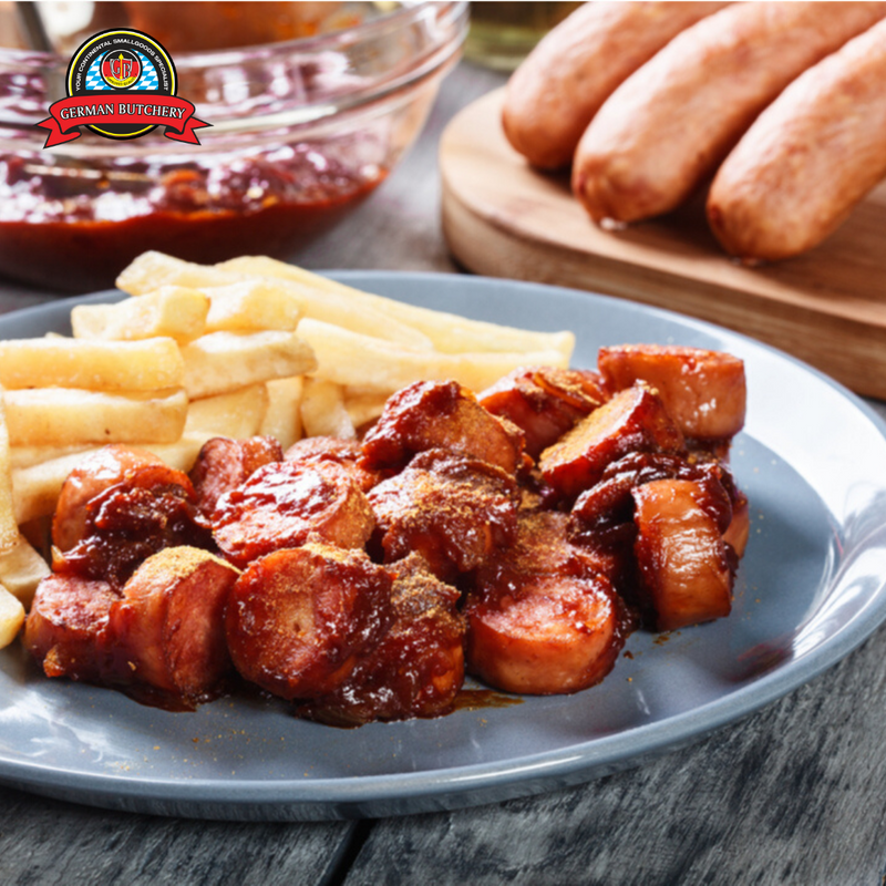 Currywurst (4 Sausages) - 400g