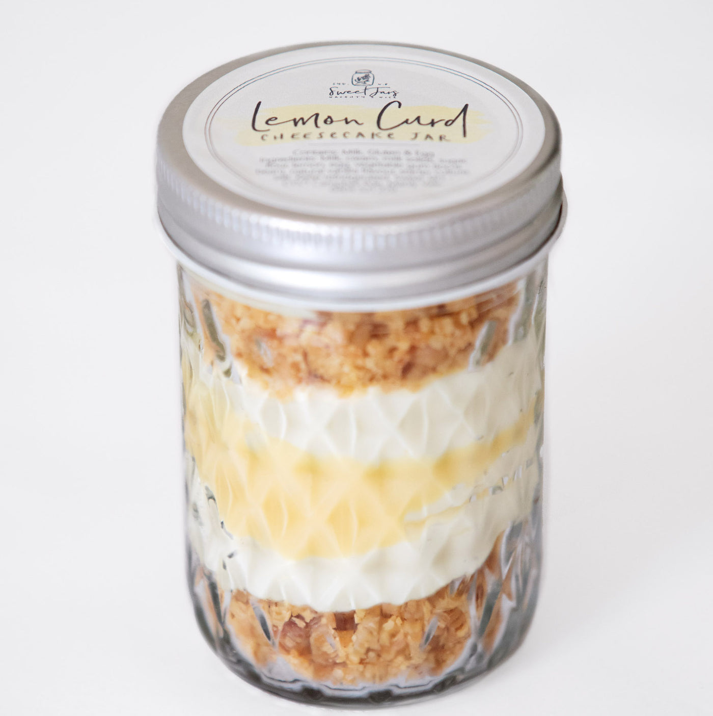 Lemon Curd Cheesecake Jar - Dessert 190g