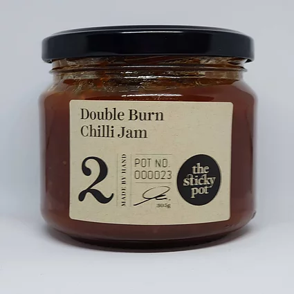 Double Burn Chilli Jam 300g