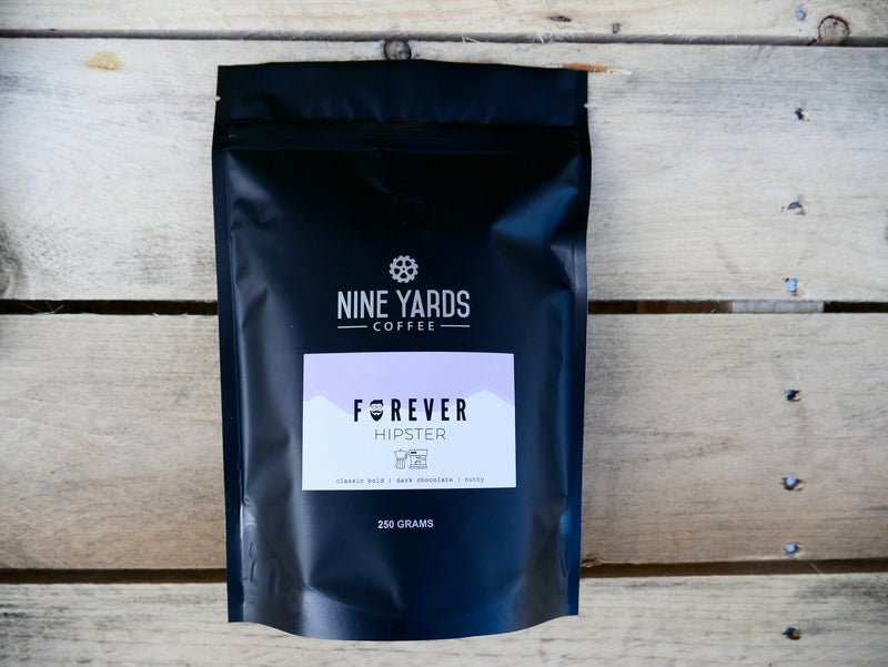 Forever Hipster Blend 250g | Nine Yards Coffee | Northern Beaches, Sydney