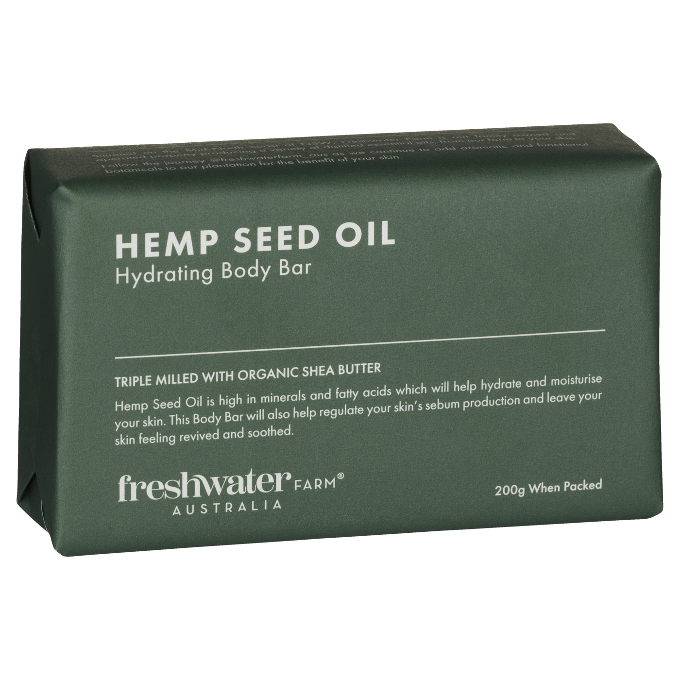 Hemp Seed Oil Hydrating Body Bar Soap
