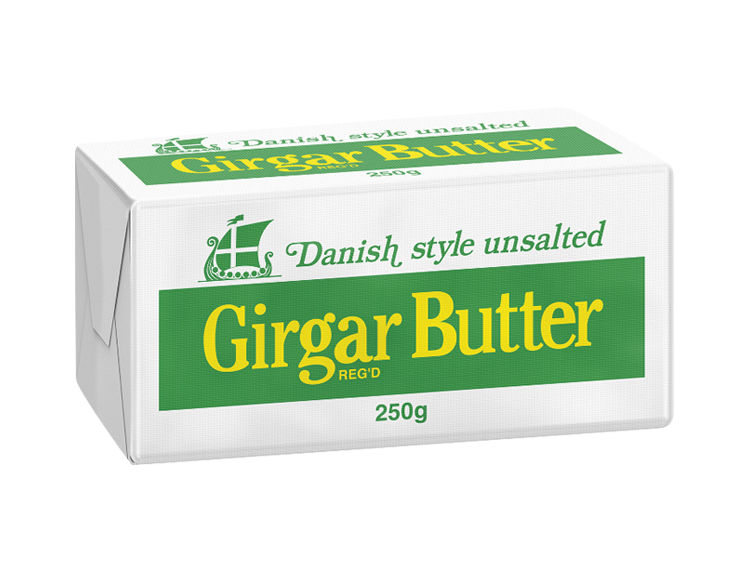 Girgar Cultured Butter 250g