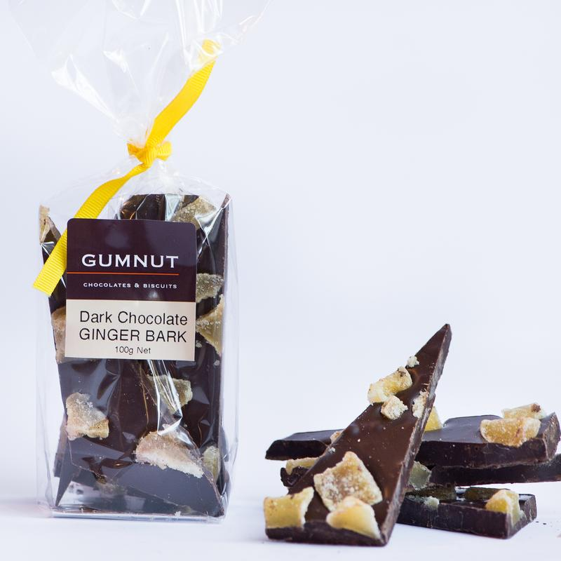 Dark Chocolate & Ginger 100g