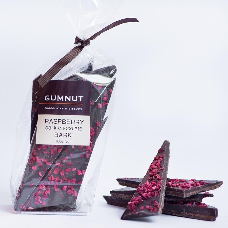 Dark Chocolate & Raspberry 100g