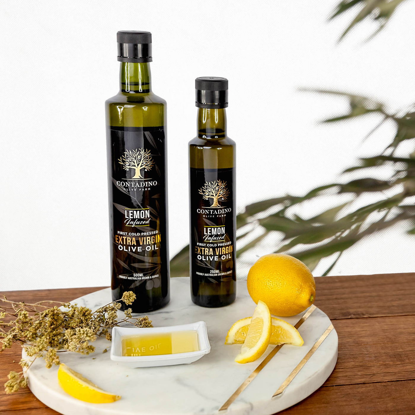 Australian Extra Virgin Olive Oil Lemon Infused - 250ml
