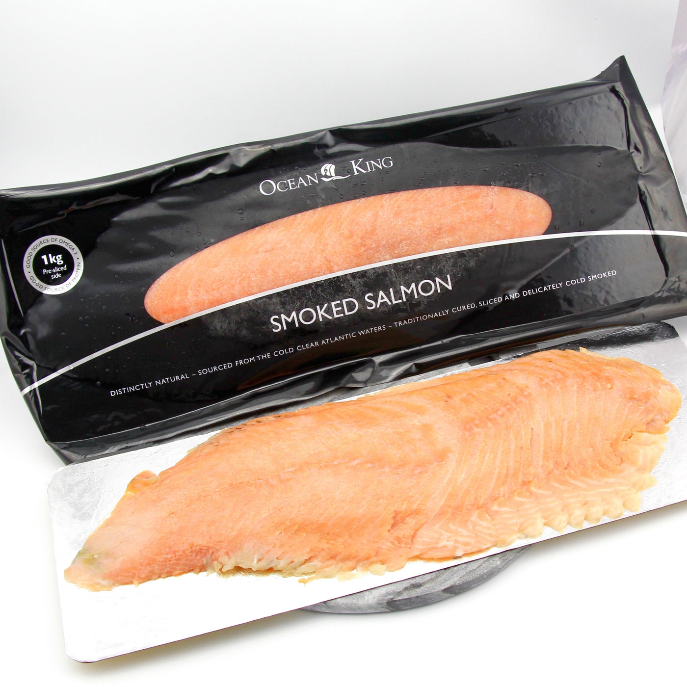 Thinly Sliced Smoked Salmon 1kg