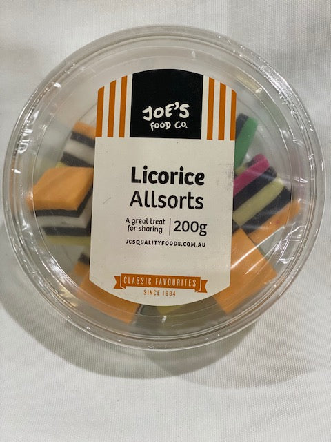 Licorice all Sorts 200g