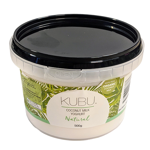 500g KUBU Coconut Yoghurt Natural