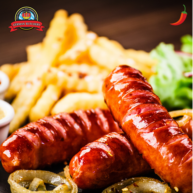 Chilli Cheese Kransky (4 Sausages) - 400g