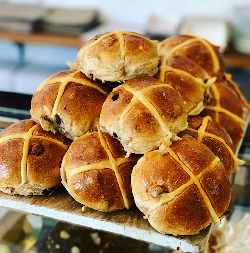 Traditional Hot Cross Buns X 6