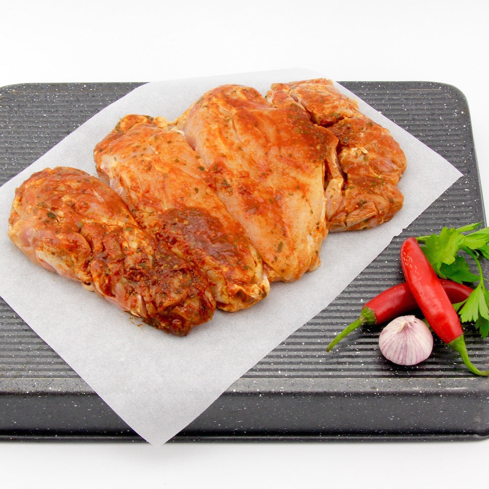 Boneless Butterflied Chicken - HOT Perri Perri(approx. 1kg - 1.2kg)