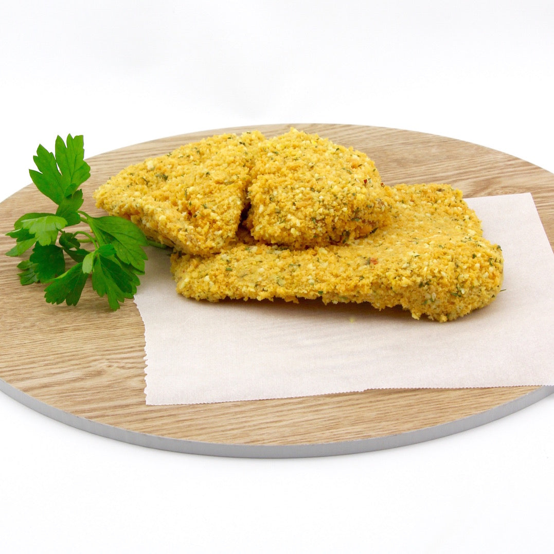Chicken Schnitzel - Lemon Parsley - Crumbed EACH (approx .250g)