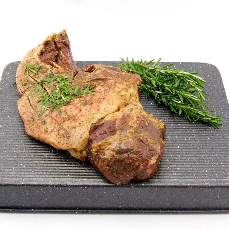 Cowra Lamb Leg Butterflied. - Mint & Rosemary  (approx. 1.7kg - 1.8kg) EACH