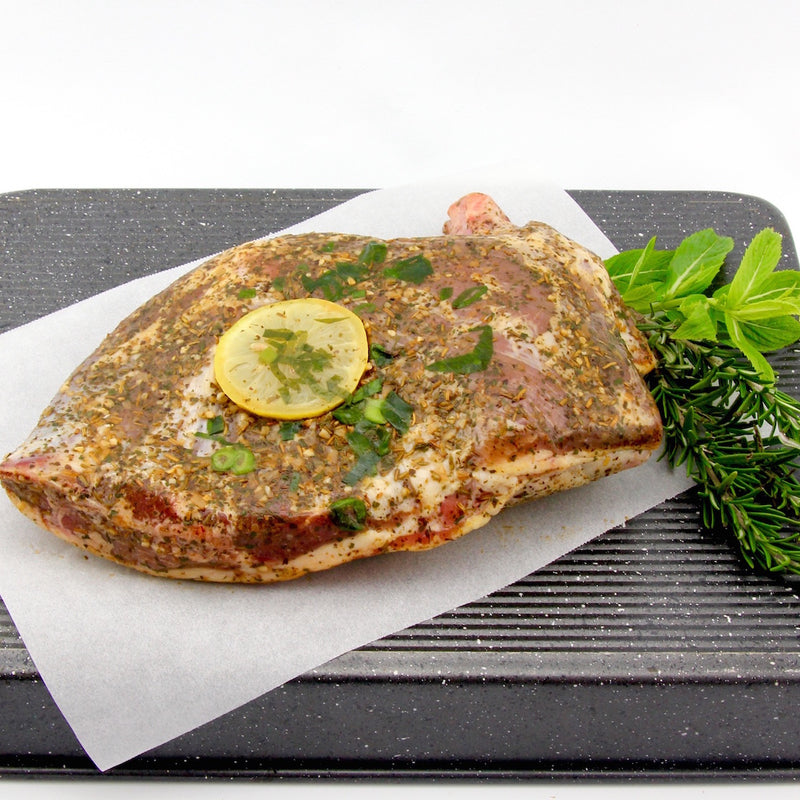 Cowra Lamb Shoulder - Mint and Rosemary  (approx. 1.5kg - 1.6kg) EACH