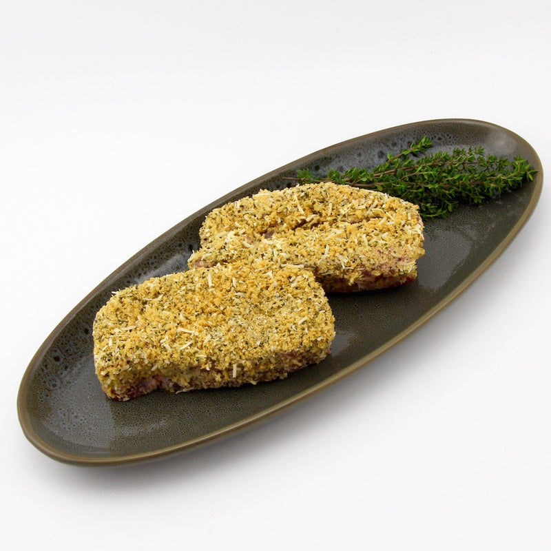 Parmesan Crusted Pork Steaks (approx 210g - 250g) EACH