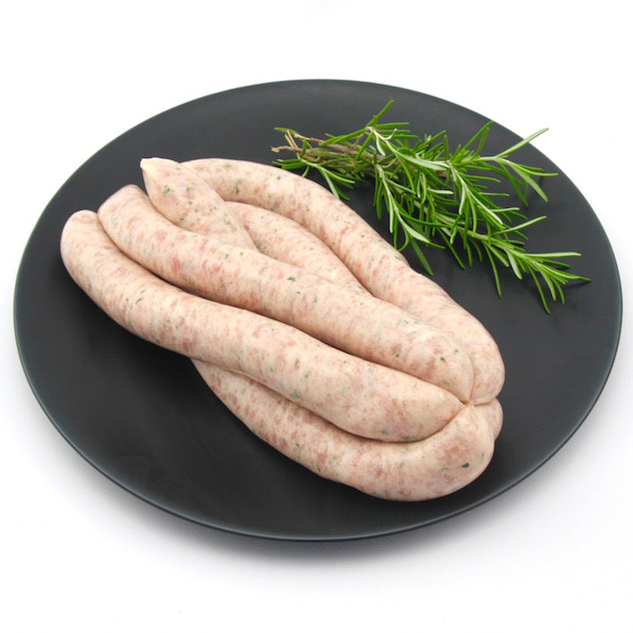 Chicken and Chive Sausages x 6 (approx. 470g - 520g)