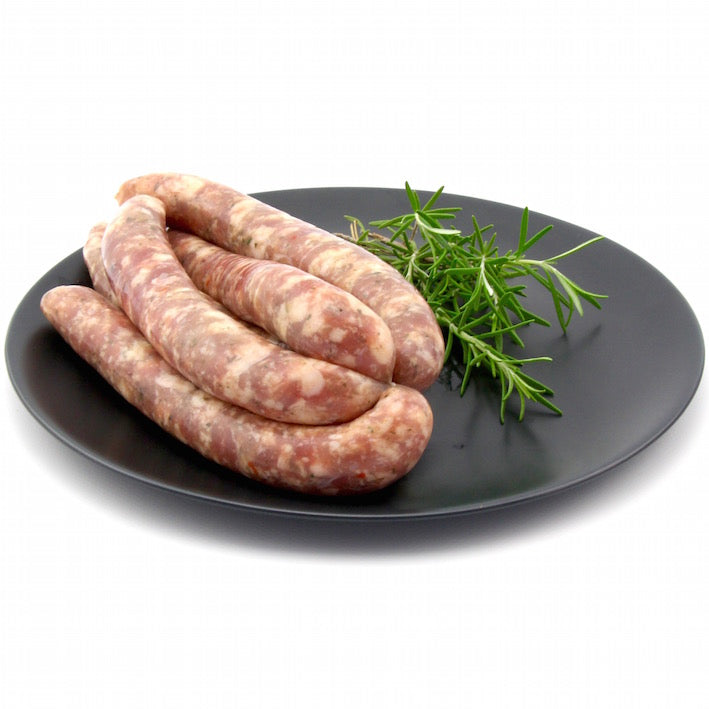 Duck and Orange Sausages x 6 (approx. 470g - 520g)