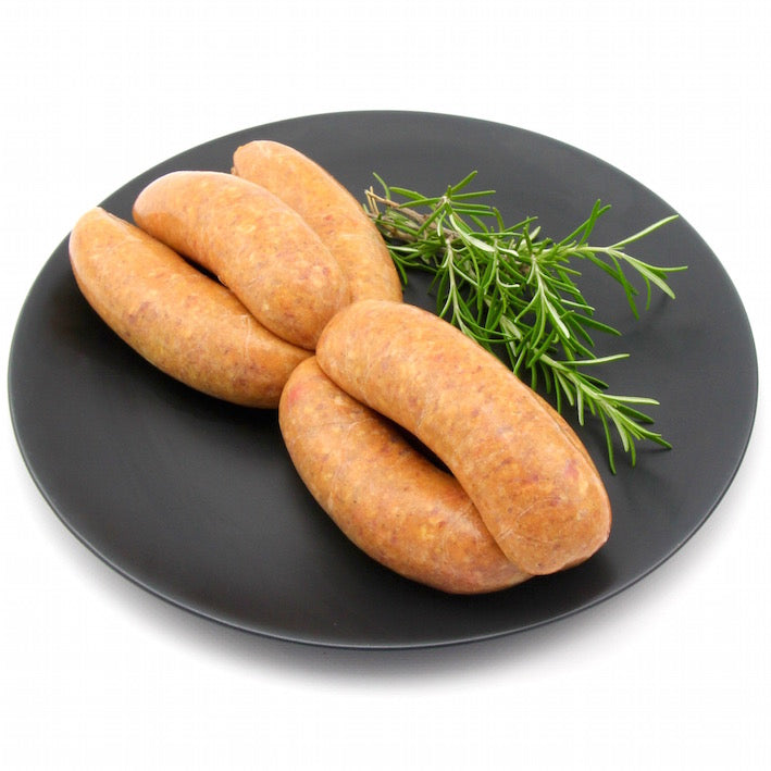 Lamb Curry Sausages x 6 (approx. 470g - 520g)