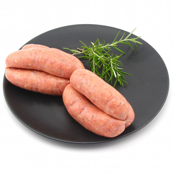 Lamb Sundried Tomato and Basil Sausages x 6 (approx. 470g - 520g)