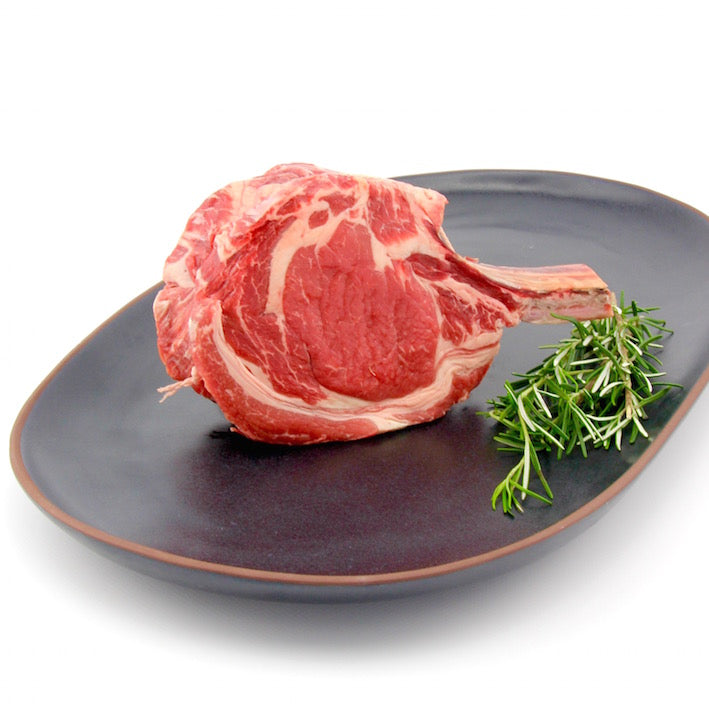 Rib Eye Steak  'on the bone' (approx. 450g - 500g)