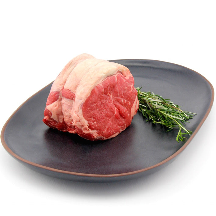 Rolled Eye of Sirloin Roast with Garlic and Herbs - 2kg