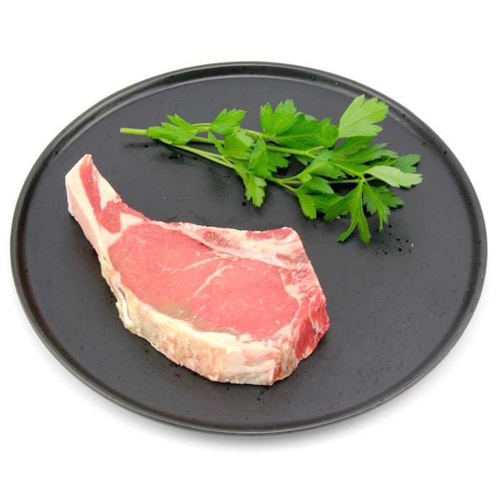 Sirloin on the bone - each (approx. 320g - 350g)