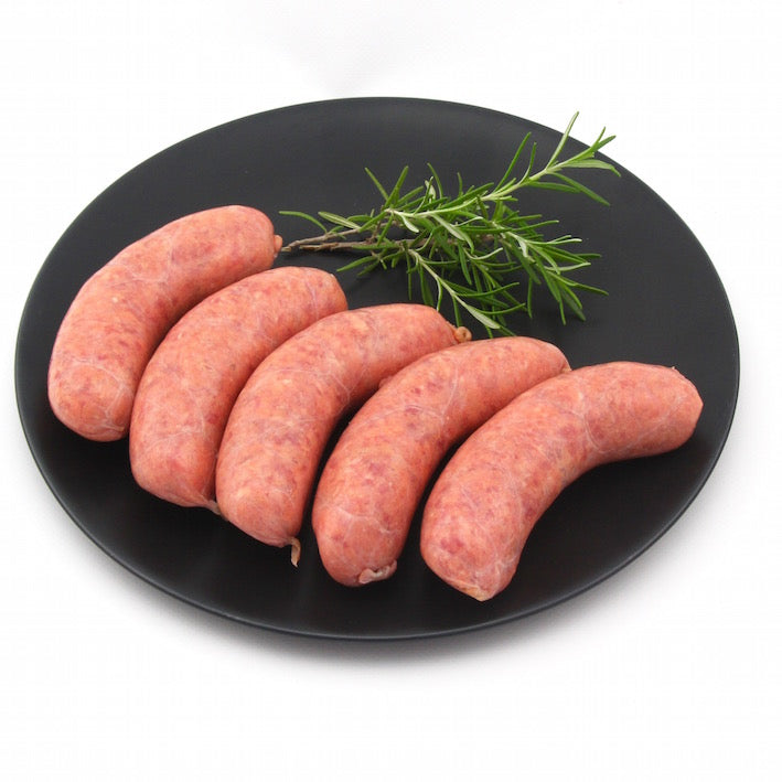 Thick Beef Sausages x 5 (approx. 450 g -500g)
