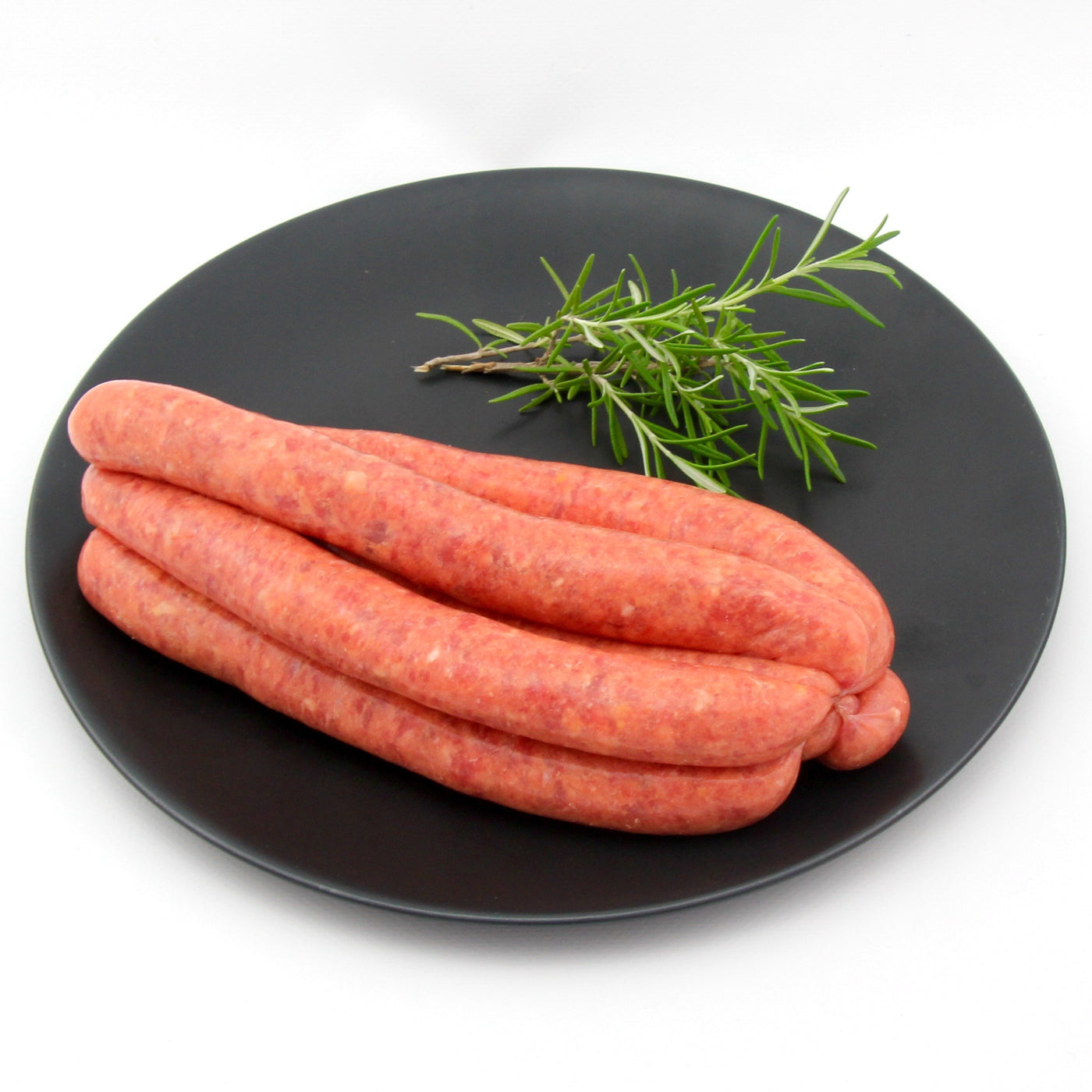 Thin Beef Sausages x 6 (approx. 470g - 520g)