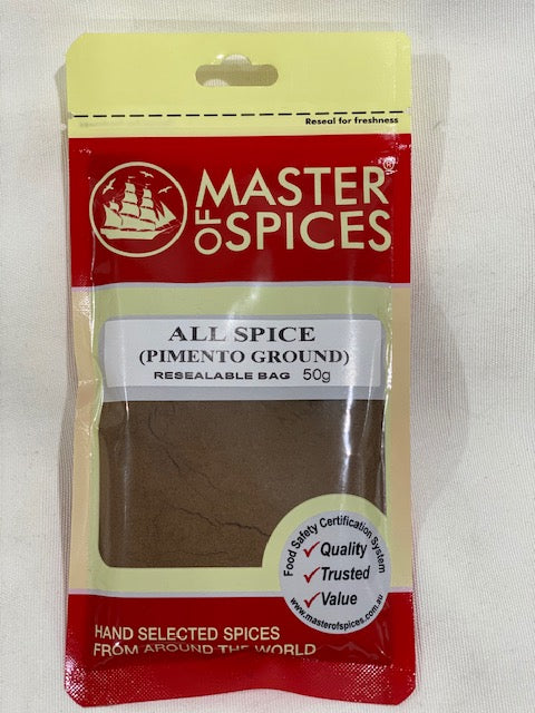 Master of Spices - All Spice Pimento Ground 50g