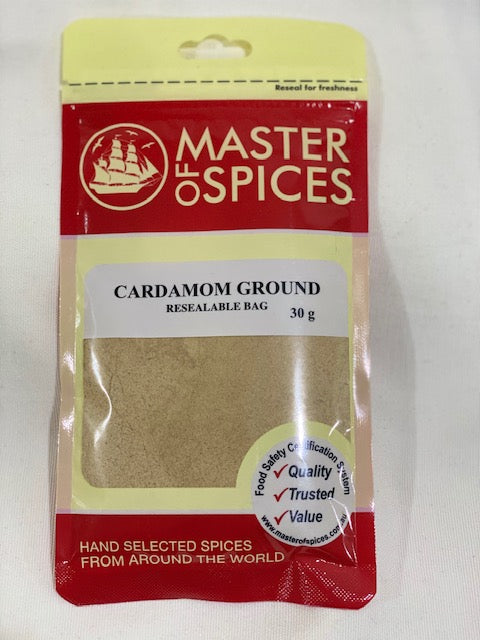 Master of Spices - Cardamom Ground 30g